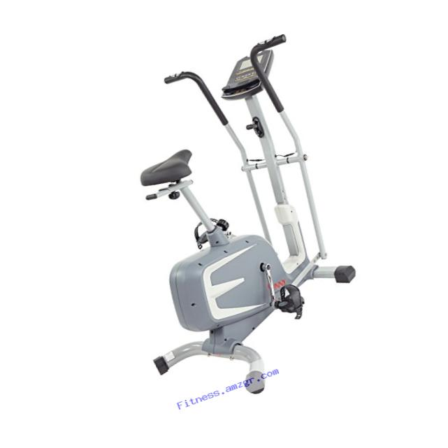 Sunny Health & Fitness Cross Training Magnetic Upright Bike by - SF-B2630 Cross Training Magnetic Upright Bike